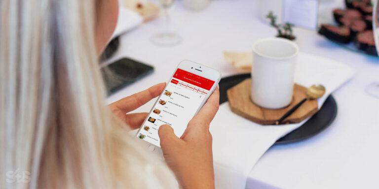ementa digital para restaurantes